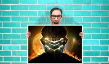 Dead Space Game Art - Wall Art Print Poster   -  Quote Art Geekery
